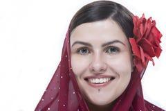 Het portret van vrouwen Stock Afbeelding