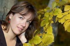 Het portretmeisjes van de herfst Royalty-vrije Stock Foto