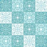 Het Portugese patroon van de azulejokeramische tegel stock illustratie