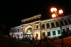Het Postkantoor van Saigon Stock Fotografie