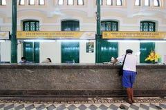 Het Postkantoor van Vietnam Ho Chi Minh City Central Stock Afbeelding