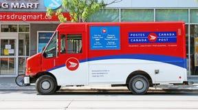 Het Postvoertuig van Canada royalty-vrije stock foto