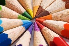 Het potlood van de kleur Stock Afbeeldingen