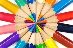 Het potlood van de kleur royalty-vrije stock afbeeldingen