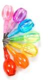 Het potlood van de regenboog Stock Fotografie