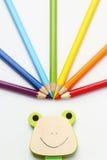 Het potlood van de regenboog Royalty-vrije Stock Fotografie