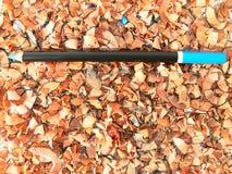 Het potlood van de slaap Royalty-vrije Stock Foto