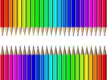 Het potlood van het kleurpotlood Vector Illustratie