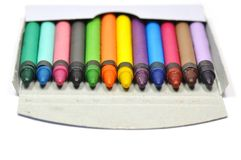 Het potlood van het kleurpotlood stock foto's