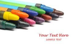 Het potlood van het kleurpotlood Stock Afbeelding