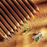 Het potlood van kleuren Royalty-vrije Stock Foto
