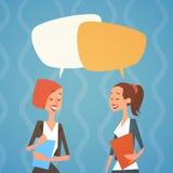Het Praatjebel Team Human Resources Colleagues van de bedrijfsvrouwengroep royalty-vrije illustratie