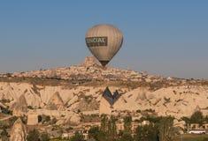 Het prachtige landschap van Cappadocia, Turkije stock foto's