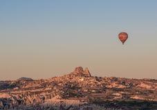 Het prachtige landschap van Cappadocia, Turkije royalty-vrije stock fotografie