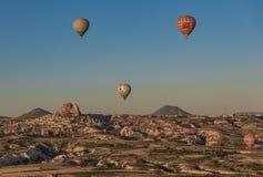 Het prachtige landschap van Cappadocia, Turkije royalty-vrije stock afbeeldingen