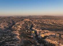 Het prachtige landschap van Cappadocia, Turkije royalty-vrije stock foto's