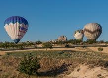 Het prachtige landschap van Cappadocia, Turkije royalty-vrije stock afbeelding
