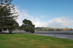 Het prachtige landschap van Nieuw Zeeland, kawakawabaai Royalty-vrije Stock Afbeelding