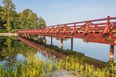 Het prachtige Trakai-Kasteel, Litouwen royalty-vrije stock foto's