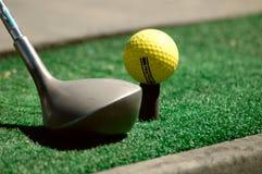 Het praktizeren Golf Stock Foto's