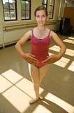 Het Praktizeren van de ballerina Royalty-vrije Stock Afbeelding