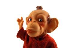 Het prediken van de aap Stock Foto