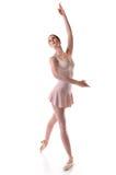 Het Presteren van de ballerina Royalty-vrije Stock Afbeelding
