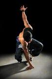 Het Presteren van de Danser van Hip Hop Stock Afbeeldingen