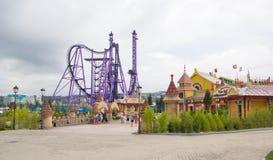 Het Pretpark` Sotchi Park ` Royalty-vrije Stock Fotografie