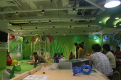 Het pretpark van de groene Kinderen in shenzhenï ¼ Œchinaï ¼ ŒAsia Stock Foto