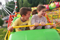 Het pretpark van kinderen royalty-vrije stock foto