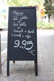 Het prijskaartje. Stock Afbeeldingen