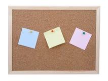 Het prikbord van  Stock Foto's