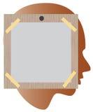 Het prikbord van Raad voor herinneringen Royalty-vrije Stock Afbeelding
