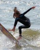 Het pro Surfen royalty-vrije stock afbeelding