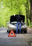 Het probleem van de auto Stock Foto