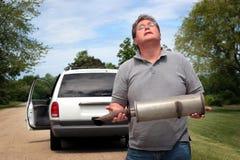 Het Probleem van de auto Royalty-vrije Stock Afbeeldingen