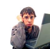 Het probleem van de computer Royalty-vrije Stock Afbeeldingen