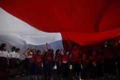HET PROBLEEM VAN DE DE KINDERENondervoeding VAN INDONESIË Stock Afbeeldingen