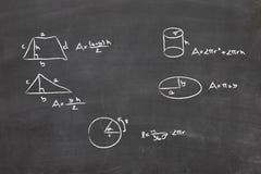 Het probleem van Math royalty-vrije stock fotografie