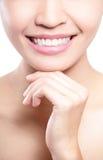 Het probleem van tanden Stock Foto
