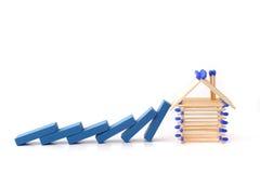 Het proces van de bouw Stock Afbeelding