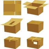 Het proces van de doos Royalty-vrije Stock Foto's