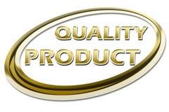 Het Product van de kwaliteit royalty-vrije illustratie