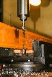 Het productiewerk in het hulpmiddel Stock Foto