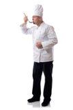 Het proeven van de chef-kok Royalty-vrije Stock Foto's