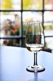 Het proevende glas van de wijn Royalty-vrije Stock Foto