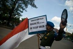 HET PROFESSIONALISME VAN INDONESIË TNI stock afbeeldingen