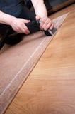 Het professionele tapijt schoonmaken Stock Foto's