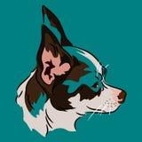 Het profiel van Chihuahua Stock Illustratie